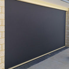 Windproof 6000x3500mm Automated Motorised Fabric Roller Blinds